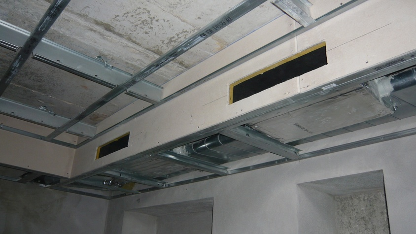 Travaux de ventilation